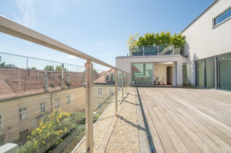 ++PROVISIONSFREI** RARITÄT in BESTLAGE: Nussdorf, außergewöhnliches LUXUS-Penthouse, 58m² Terrasse, hochwertigste Ausstattung! **VIDEOBESICHTIGUNG**