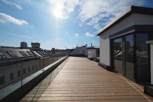 ROSSAUER GASSE | exklusive 4-Zimmer-Dachgeschoß-Wohnung mit Balkon und Dachterrasse | BELAGSFERTIG