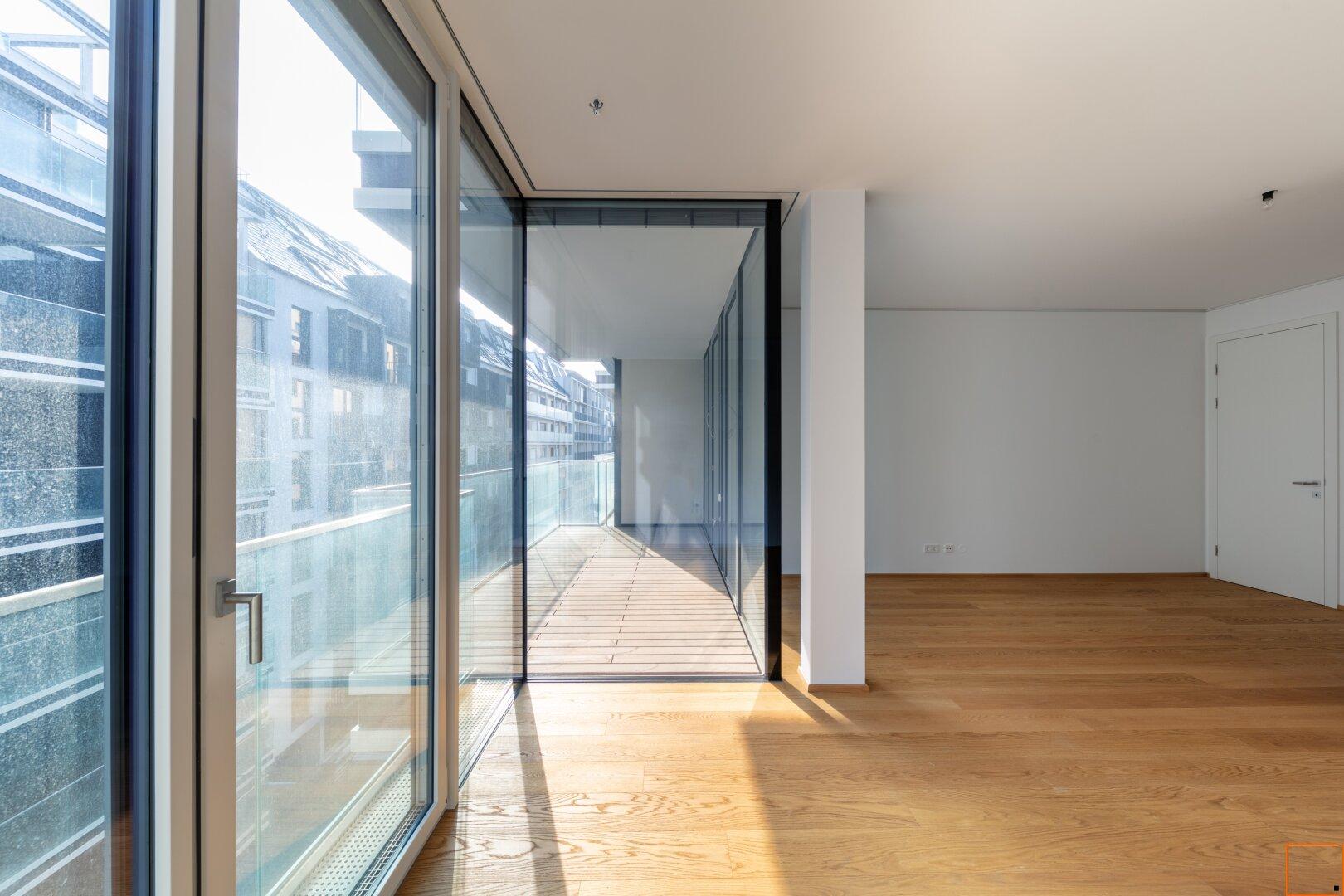 Blick aus dem Fenster Master-Schlafzimmer