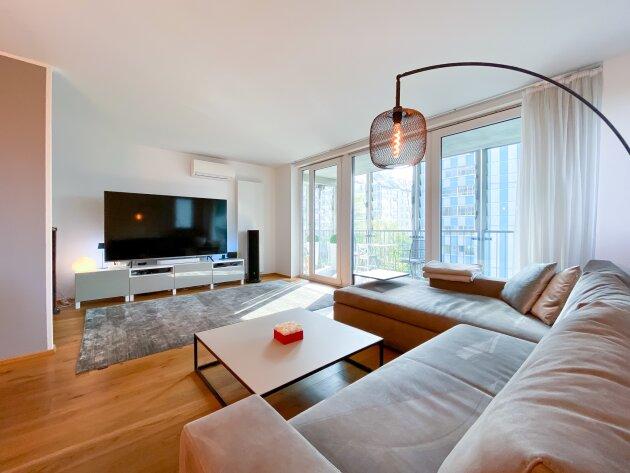 Foto von NEU :::STYLE LIVING -  Hochwertige, top sanierte Neubauwohnung mit großer Loggia und Ausblick auf die Alte Donau – Kauf in 1220 Wien:::