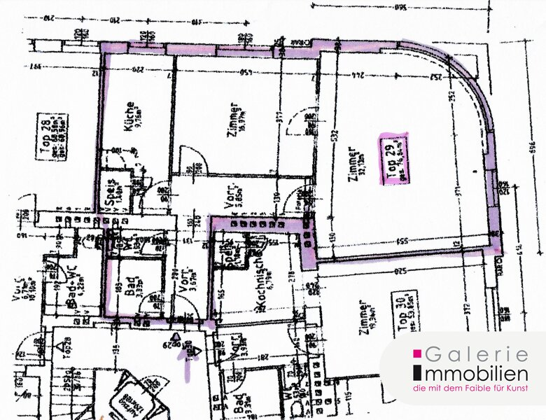 Elegant möblierte 2-Zimmer-Wohnung im 6. Liftstock mit Weitblick - barrierefrei Objekt_31856 Bild_578