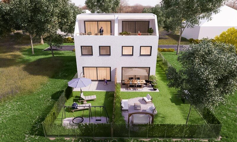 Erstbezug: herrliches, lichtverwöhntes Doppelhaus auf 3 Ebenen - 2 Min. nach Wien /  / 2301Groß-Enzersdorf / Bild 3