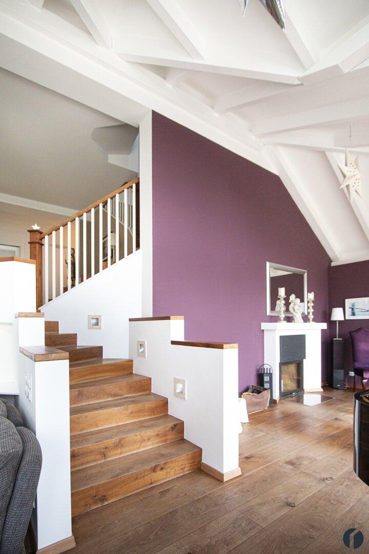 Treppe im Wohnbereich