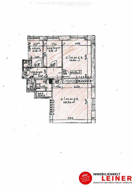 Schwechat – ruhige, 2,5 Zimmer Mietwohnung direkt beim Stadtpark! Objekt_9957 Bild_122