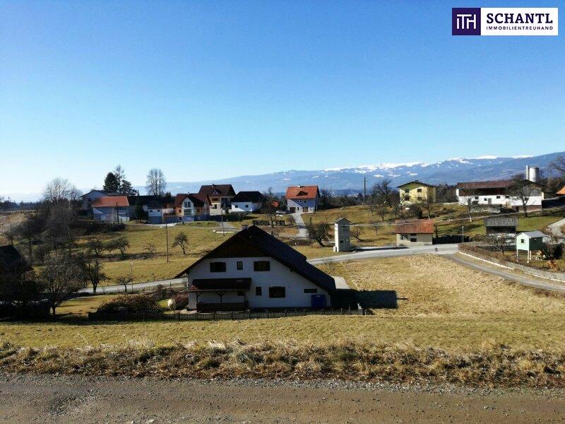 Wow! Grundstücke in Südwesthanglage mit Fernblick auf die Koralm + Ruhelage /  / 8503Sankt Josef In der Weststeierm / Bild 3