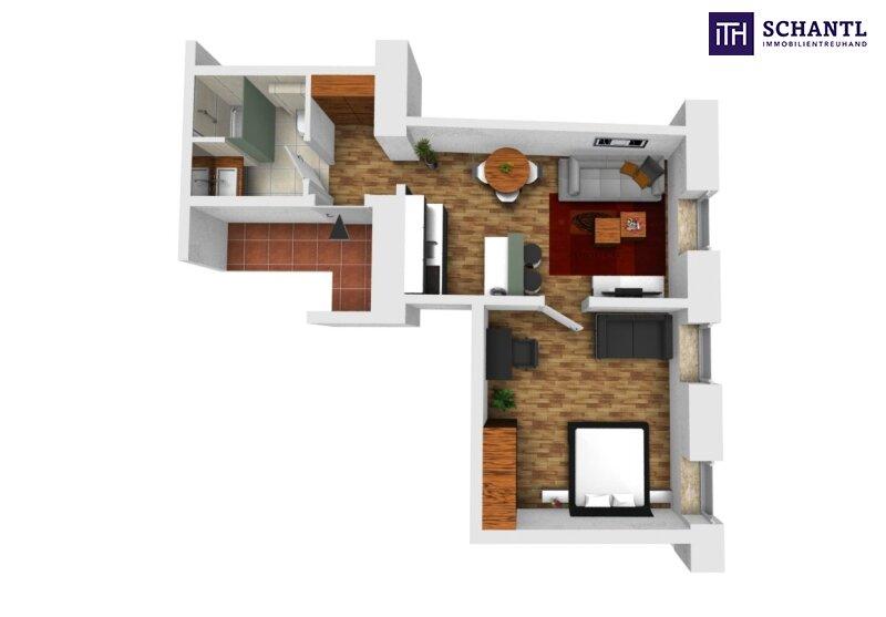 KURZZEITVERMIETUNG!!! Fünf voll möblierte Wohnungen im Paket + Sanierter Altbau + Absolute top Lage! /  / 1140Wien / Bild 10