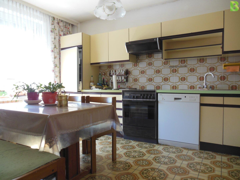 Wohnküche Retrostyle