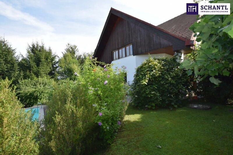 ITH #Stimmungsvolles Wohnen am Ruckerlberg + Swimmingpool + Sauna + Garage!