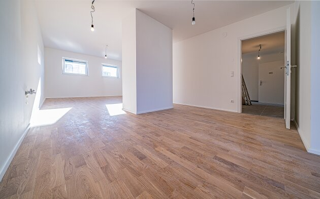 Foto von NEU! ++ ERSTBEZUG + 3 Zimmer Dachgeschosswohnung mit BALKON in 1160 Wien++ Nähe BRUNNENMARKT sowie 1080 Wien und 1070 Wien ++