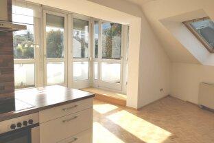 Miete - 2-Zimmer-Dachgeschoß-Wohnung in toller Wohnlage Nähe Villach-Warmbad