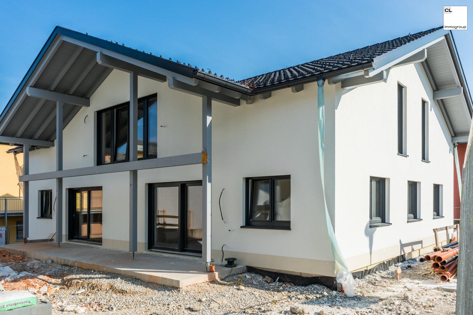 Aussenansicht des neuen Wohnbauprojektes G2 - Zuhause ankommen