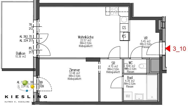 Perfekte Startwohnung - Neubau mit Terrasse! Top Energiekennzahl /  / 1210Wien / Bild 2