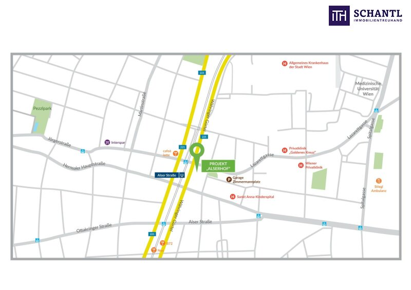 """Perfekt aufgeteilt + Top saniert + Optimale Anbindung und Infrastruktur! Bestes Preis-Leistungs-Verhältnis in 1090 Wien! """"Willkommen im Alserhof"""" /  / 1090Wien / Bild 6"""