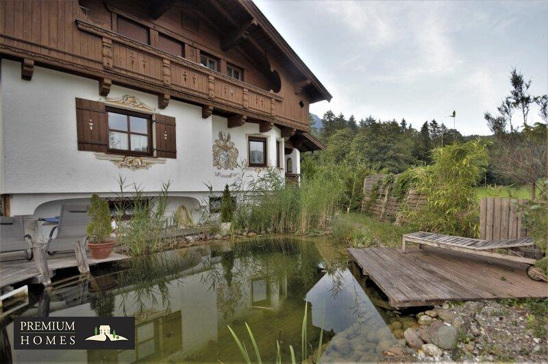 Breitenbach am Inn - Elegantes Landhaus - Haus-Ansicht Richtung Süden
