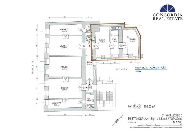 Wohnung 50 m²
