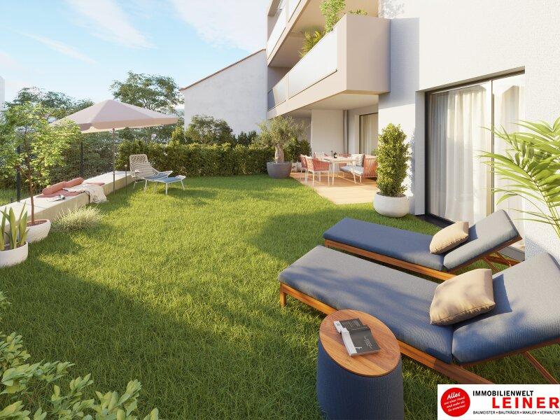 Leben wie in einem Bungalow mitten in der Stadt - Eigentumswohnung mit  56,88m² sonnigemGarten & Loggia - Provisionsfrei - 1110 Wien Objekt_15331 Bild_168