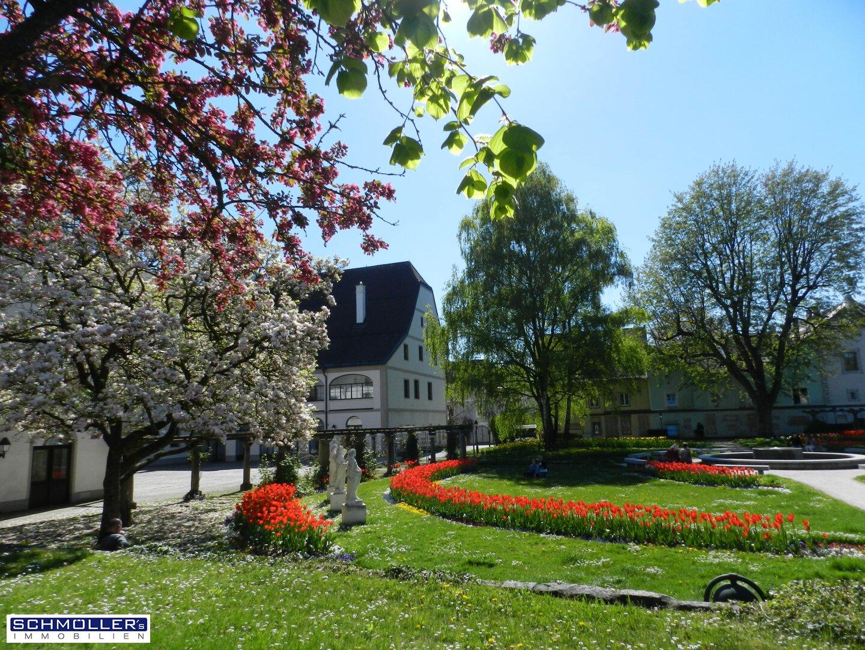 Der Welser Burggarten