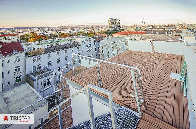 NEU! ++ ERSTBEZUG !!! Dachterrassenwohnung mit 360 Grad Wienblick !!! Terrasse + Dachterrasse !!! 4 Auto Stellplätze (Top 60) ++ /  / 1100Wien / Bild 4