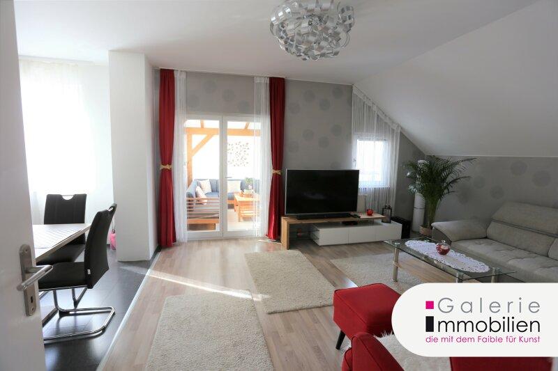 Attraktive DG-Wohnung mit Wintergarten und Terrasse in absoluter Ruhelage Objekt_34676