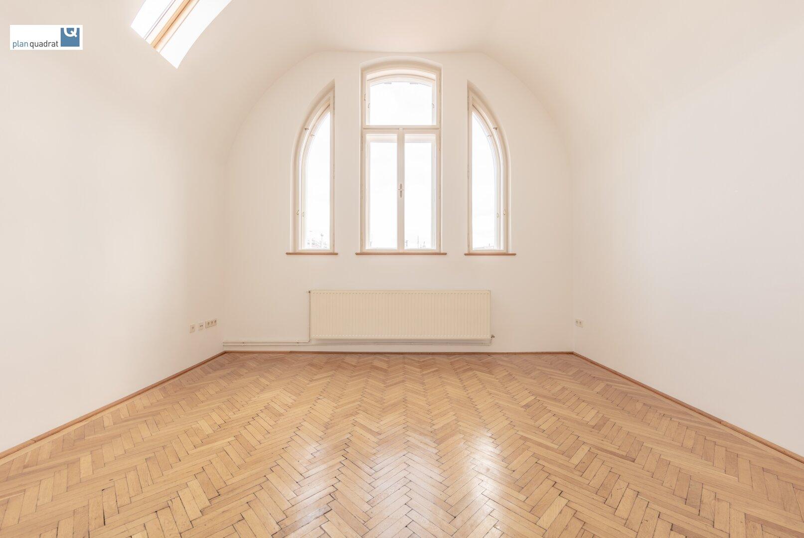 Atelier-Hauptraum (ca. 21,20 m²)