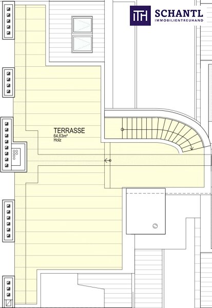 DAS IST EINZIGARTIG! Fünf-Zimmer-Erstbezug auf zwei Etagen, plus über 64m² Panorama-Dachterrasse! /  / 1170Wien / Bild 3