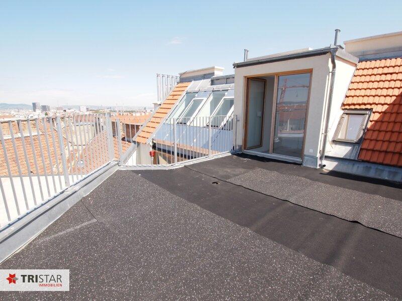 Hochwertig errichtete 2,5 Zimmer DG-Maisonette mit Küche, Abstellraum, Terrasse und fantastischem Wienblick! /  / 1100Wien / Bild 0