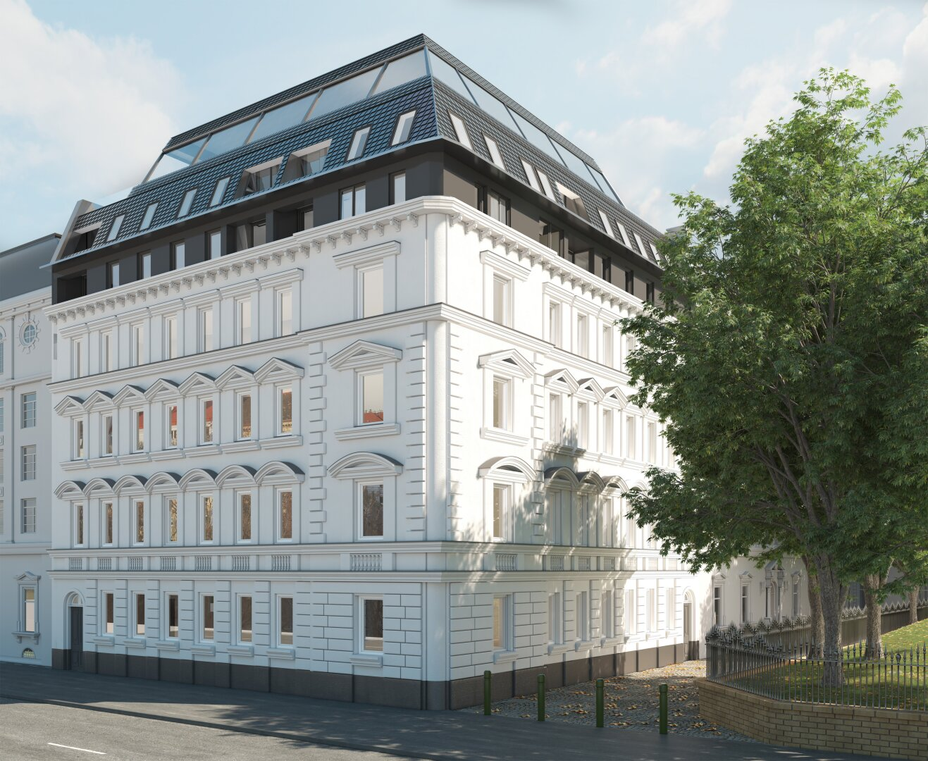 K1 - Wir legen Ihnen Wien zu Füßen - MODERNE STADTWOHNUNGEN MIT PERFEKTER AUSSTATTUNG UND RAUMAUFTEILUNG (Projektansicht)