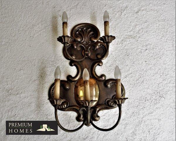 Breitenbach am Inn - Elegantes Landhaus - Außen-leuchte Handarbeit
