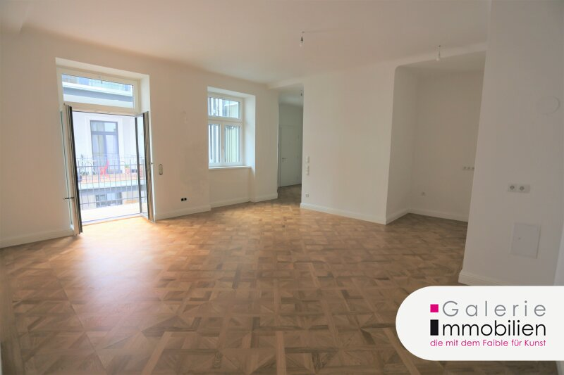 Erstbezug - Hochwertige Altbauwohnung mit Balkon in revitalisiertem Biedermeierhaus Objekt_34678