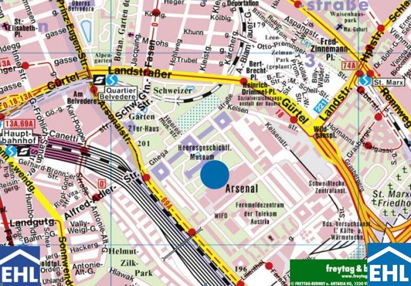 Dachgeschoßwohnungen in Grünruhelage nahe dem Hauptbahnhof /  / 1030Wien / Bild 3