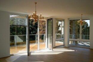 Belvedereblick! 148m2, topmoderne, großzügige 4 Zimmerwohnung, 2 Terrassen, 2 Garagenstellplätze.