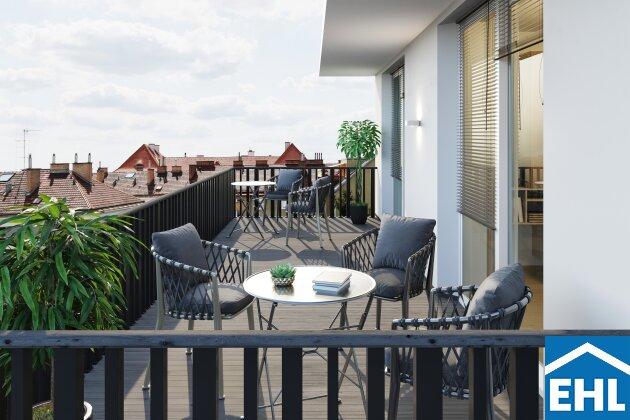 ERSTBEZUG - familienfreundliche Dachgeschosswohnung mit großzügigen Terrassen