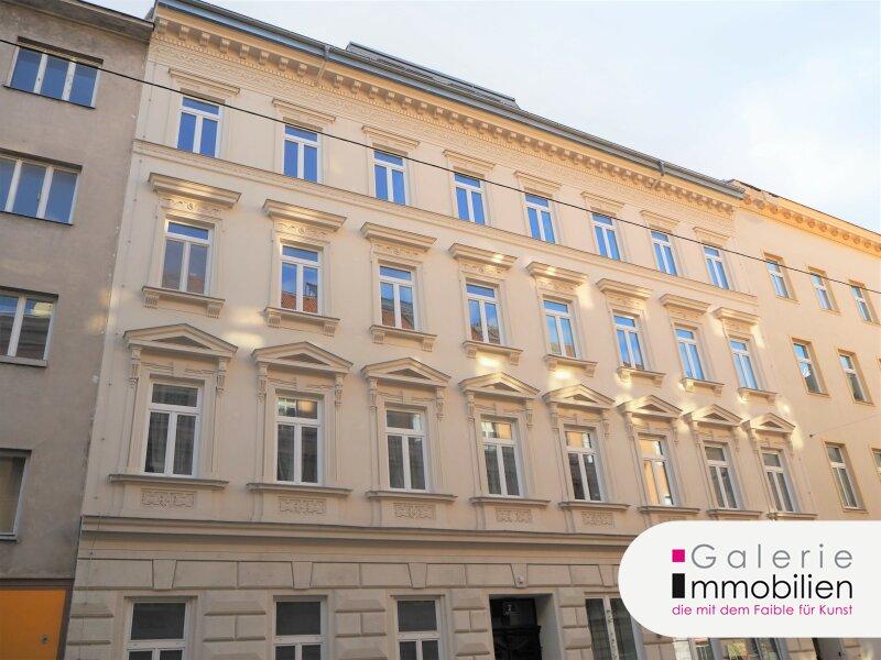 Yppenplatz - Attraktive Wohnung mit Balkon in generalsaniertem Jahrhundertwendehaus Objekt_33854