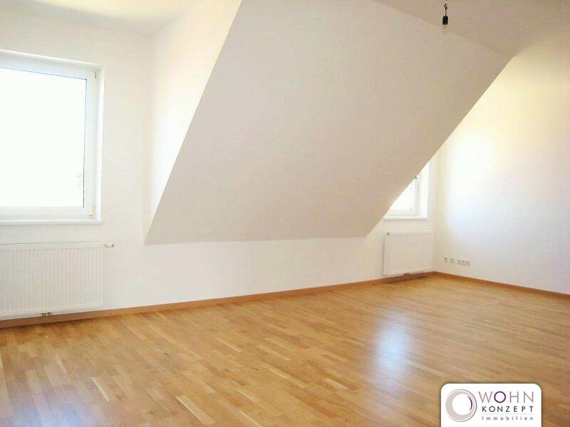 Unbefristete 99m² DG-Wohnung mit Einbauküche Nähe U1 - 1100 Wien /  / 1100Wien / Bild 1