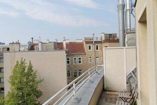 Sonnige Singlewohnung mit Balkon - Nahe Wallensteinplatz