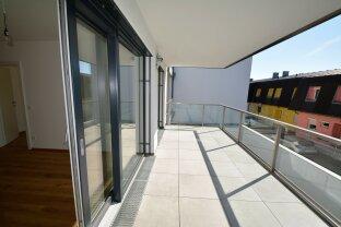 Strebersdorf - Moderne 2-Zimmer-Wohnung im Dachgeschoß mit Terrasse