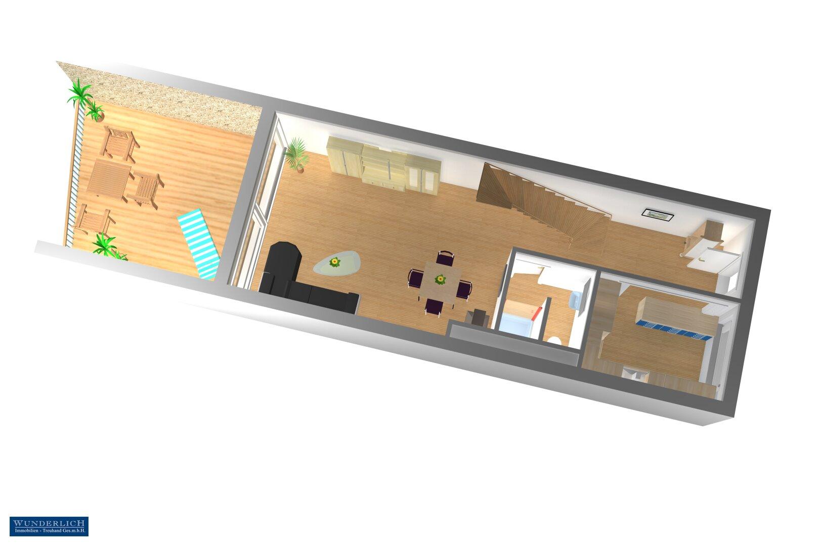 Eingangsebene 3D-Visualisierung 2
