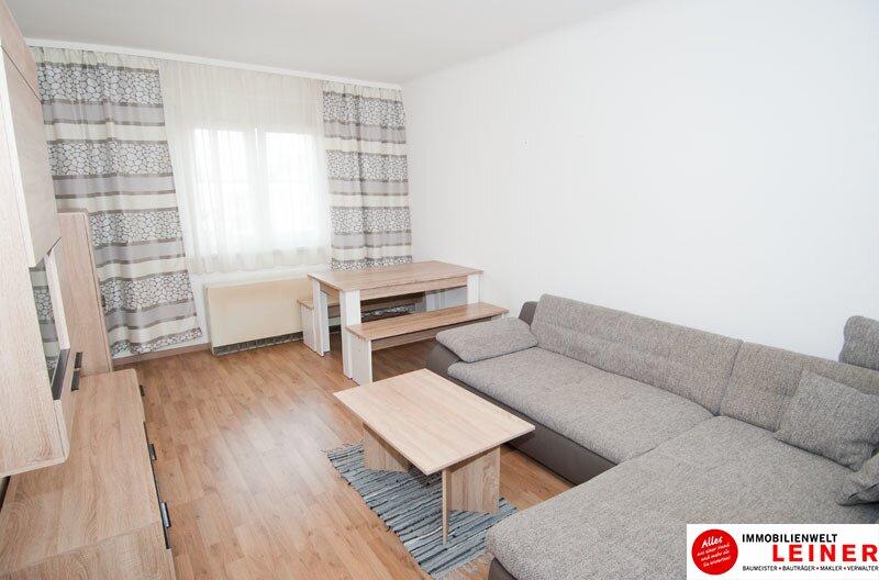 Schwechat: Wohnglück - zentrumsnahe 2 Zimmer Mietwohnung voll möbliert mit sonniger Loggia! Objekt_10635