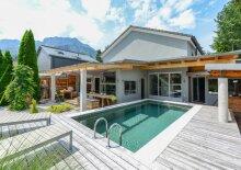 Designer-Villa mit Luxusambiente - Swimmingpool und schönen Ausblicken (in Rif, nahe Schloss Rif, Anif/Niederalm und Salzburg Süd)