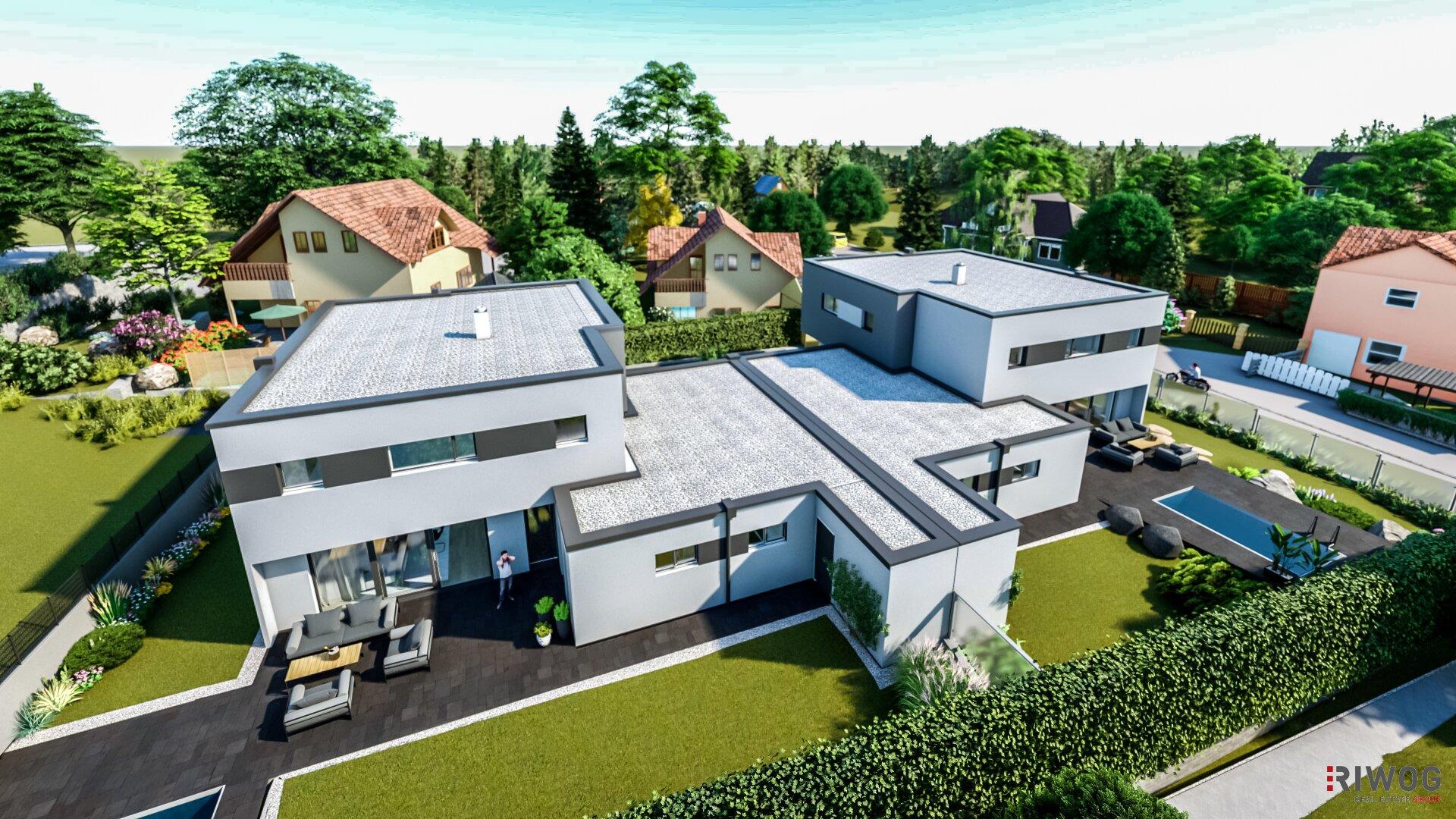 BR41 - Wohnen im voll ausgestatteten Luxus Einfamilienhaus (Projektansicht)