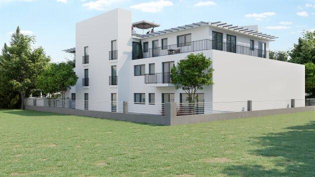 Foto von ++U1 Leopoldau++ 2-Zimmer Neubauwohnung inkl. südseitger Terrasse und Garten (Kurzzeitvermietung möglich)