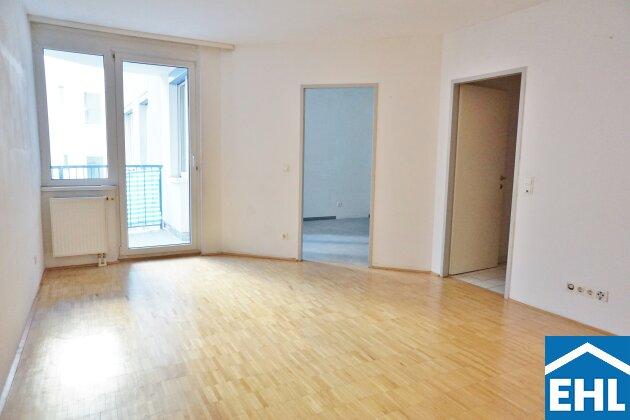 Hofruhelage: 2-Zimmerwohnung mit Balkon