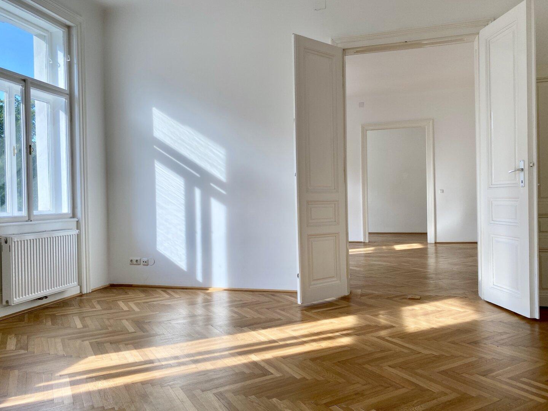 Blick auf alle 3 Zimmer