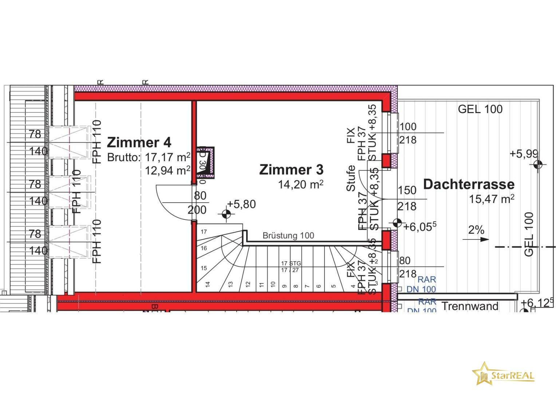 Dachgeschoss 14D