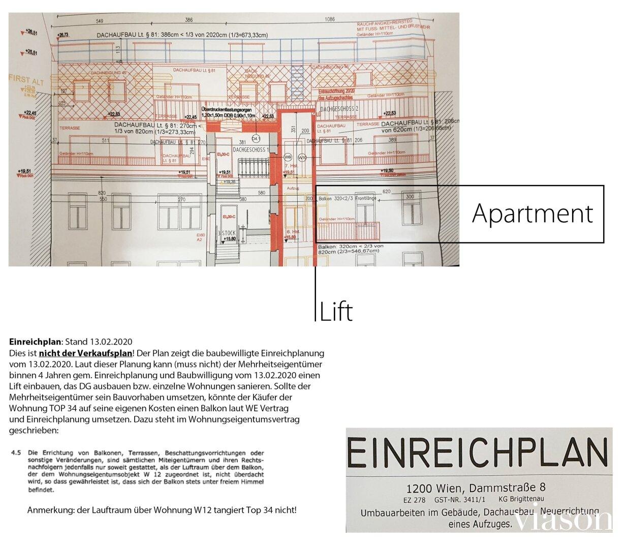 Einreichplanung Wohnung Close Up