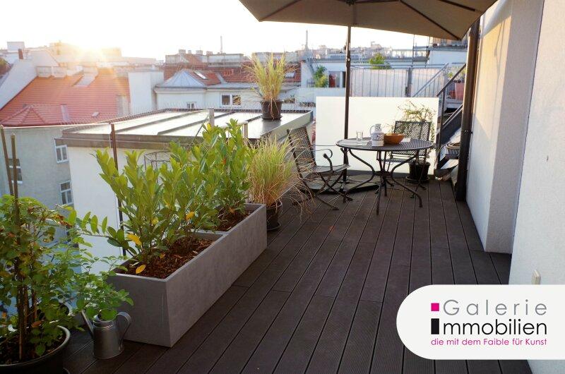 Erstklassige DG-Wohnung mit 2 Terrassen und Grünblick - Panoramablick Objekt_28894