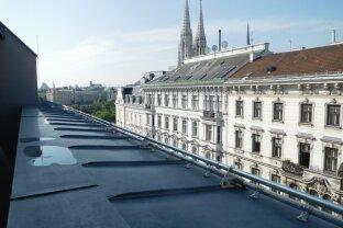 Exklusive Terrassenwohnung - zentrale Lage (Nähe Votivkirche) - unbefristet