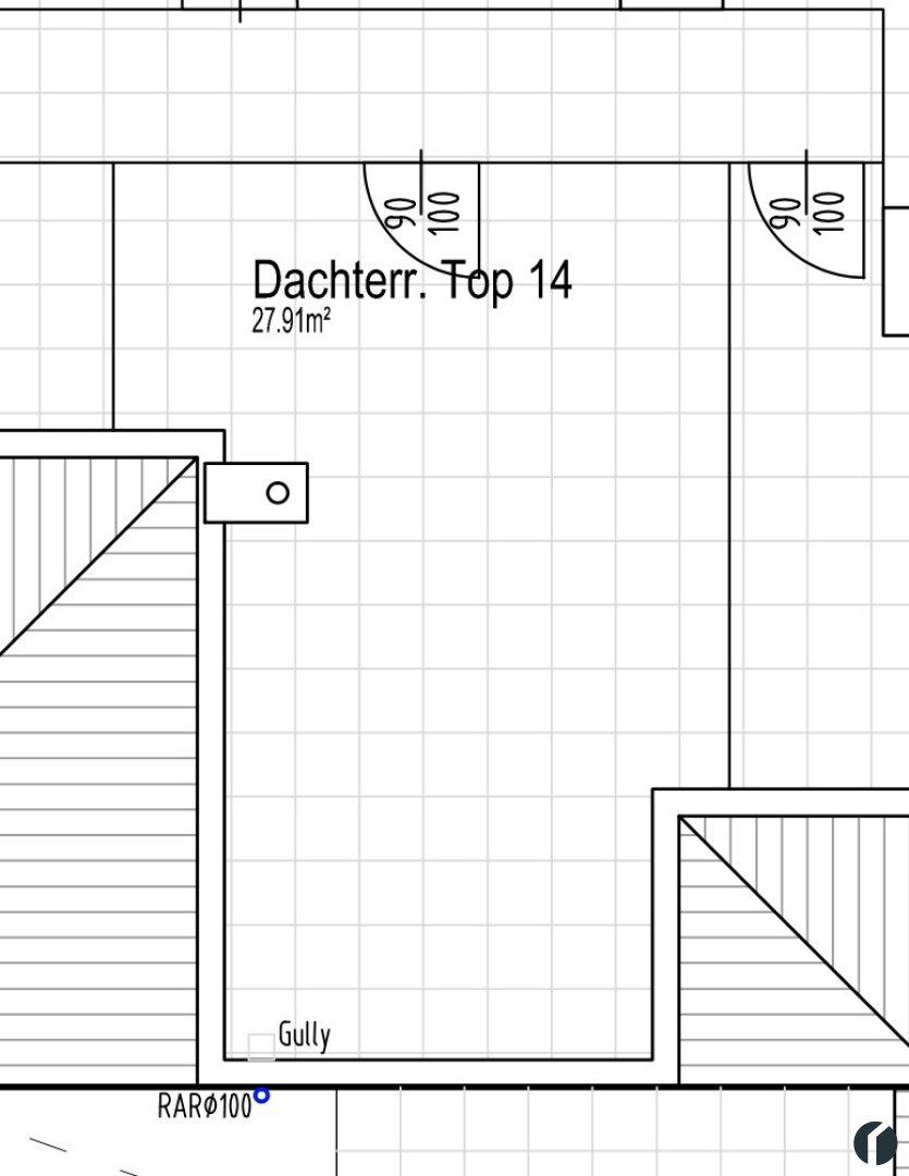 Dachterrasse Top 14