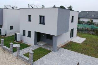 Familien Einzelhaus - nur 11 km bis Wien - mit Keller auf Eigengrund 116m² WNFl.
