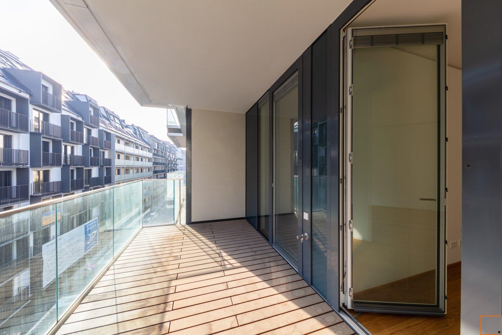 Terrasse Master-Schlafzimmer